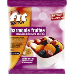 Mélange de fruits séchés Fit For Fun, harmonie fruitée