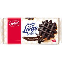 Gaufres de Liège aux œufs frais chocolat belge