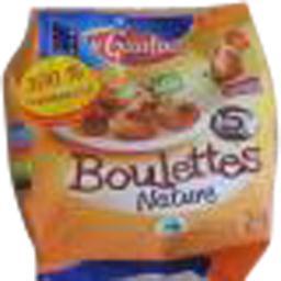 Boulette de volaille cuites nature,Gaulois,