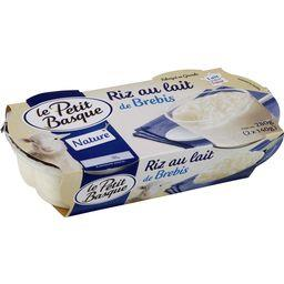 Riz au lait de brebis