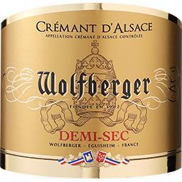 Crémant d'Alsace demi-sec