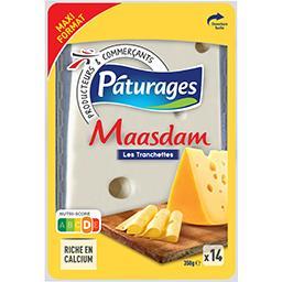 Maasdam, les tranchettes