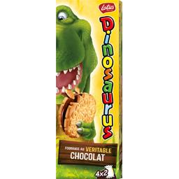 Biscuit fourrage au véritable chocolat