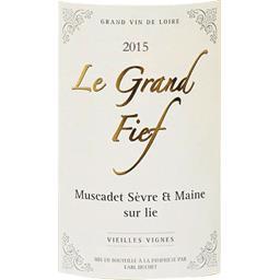 Muscadet sévre et maine sur lie 2015, vin blanc