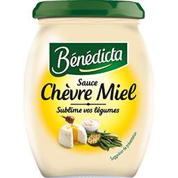 Bénédicta Sauce chèvre miel le pot de 260 g
