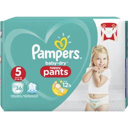 Pampers Baby-dry pants - taille 5 12-17 kg - couches-culotte...