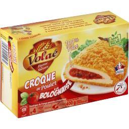 Croque de poulet à la bolognaise
