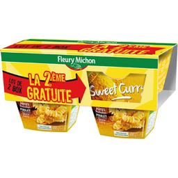 Pâtes Radiatori Sweet Curry poulet sauce curry