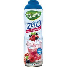 Zéro - Sirop 0% de sucre, parfum grenadine
