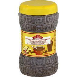 Préparation en granule instantanée pour boisson cacaotée