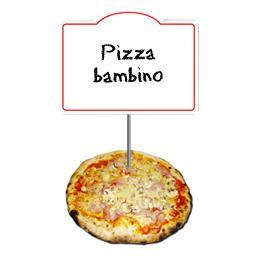 Cuit sur place Pizza bambino La pizza