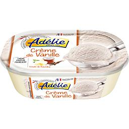 Glace crème de vanille