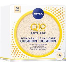 Q10 Plus Anti-âge - Soin 3 en 1 Cushion 01 Light