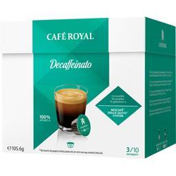 Capsules de café moulu Decaffeinato