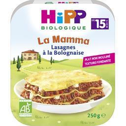 La Mamma - Lasagnes à la Bolognaise BIO, dès 15 mois