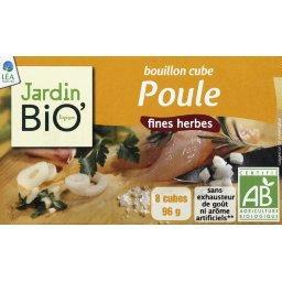 Bouillon cube poule et fines herbes BIO