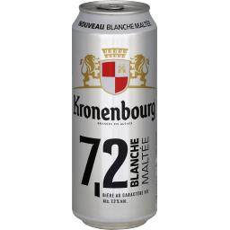 Bière blanche maltée