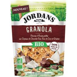 Jordans Granola flocons d'avoines chocolat noir noix de coco...
