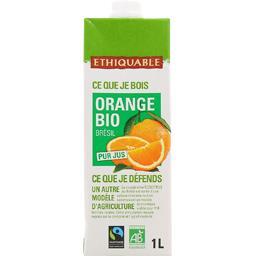Jus d'orange BIO pur jus