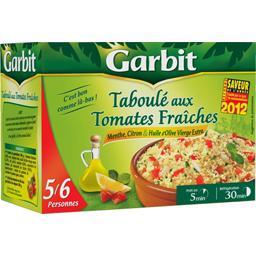 Taboulé aux tomates fraîches, menthe et citron