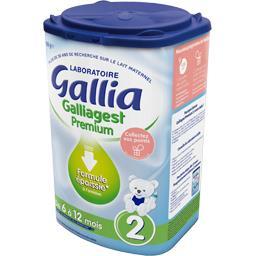 Lait en poudre Galliagest Premium 2, de 6 à 12 mois