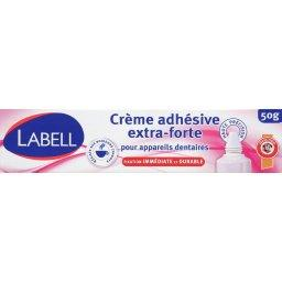 Crème adhésive extra-forte pour appareils dentaires