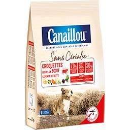 Sans Céréales - Croquettes bœuf légumes & fruits pou...