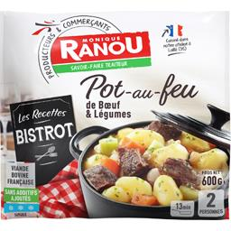 Pot-au-feu de bœuf & légumes - Les Recettes Bistrot