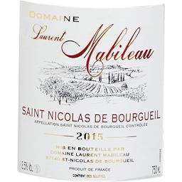 Saint Nicolas de Bourgueil vin rouge, 2016