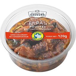 Tapas poulpes aux tomates Pomodoro
