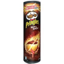 Pringles Biscuits apéritif Hot & Spicy le boite de 210 g