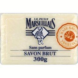 Le Petit Marseillais Savon brut sans parfum, base savon végétale