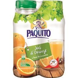 100% pur jus orange