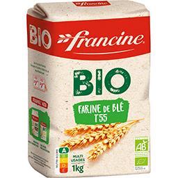 Farine de blé BIO T55