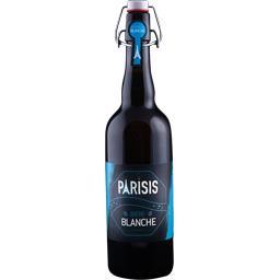 Brasserie Parisis Bière blanche la bouteille de 75 cl
