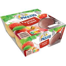 Dessert de fruits, pomme fraise