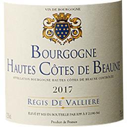 Bourgogne Hautes Côtes de Beaune Régis de Vallière v...