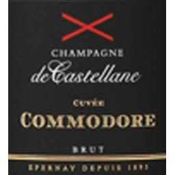 Champagne brut cuvée Commodore