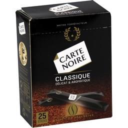 Carte Noire Café soluble classique délicat & aromatique