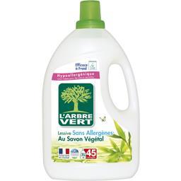 Lessive au savon végétal
