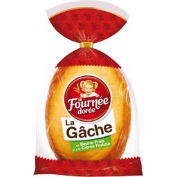 Brioche La Gâche au beurre frais et à la crème fraîc...