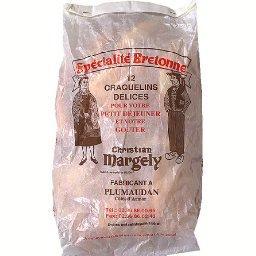 Spécialité de Bretagne, craquelins délices x12, le paquet,110g