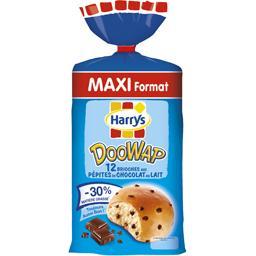 Doo Wap - Brioches aux pépites de chocolat au lait