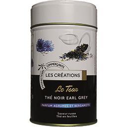 Le Tsar thé noir Earl Grey parfum agrumes et bergamo...