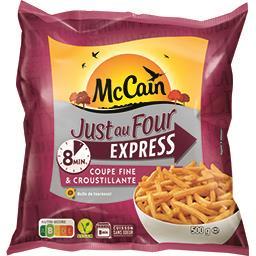 Mc Cain Just au Four - Frites Express coupe fine & croustill...