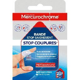 Bande stop saignement Stop Coupures 3 m x 2,5 cm