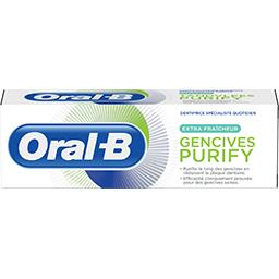 Oral B Dentifrice gencives purify extra fraîcheur