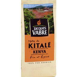 Café moulu notes de Kitalé Kenya