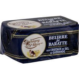 Beurre de baratte aux cristaux de sel de Guérande