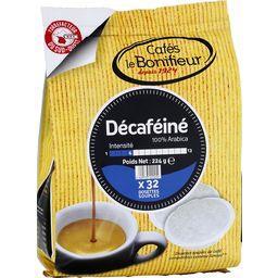 Dosettes de café décaféiné